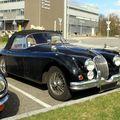 Jaguar XK 150 convertible (petite sortie du club ColmarAutoRetro au Musée du Chocolat) 01