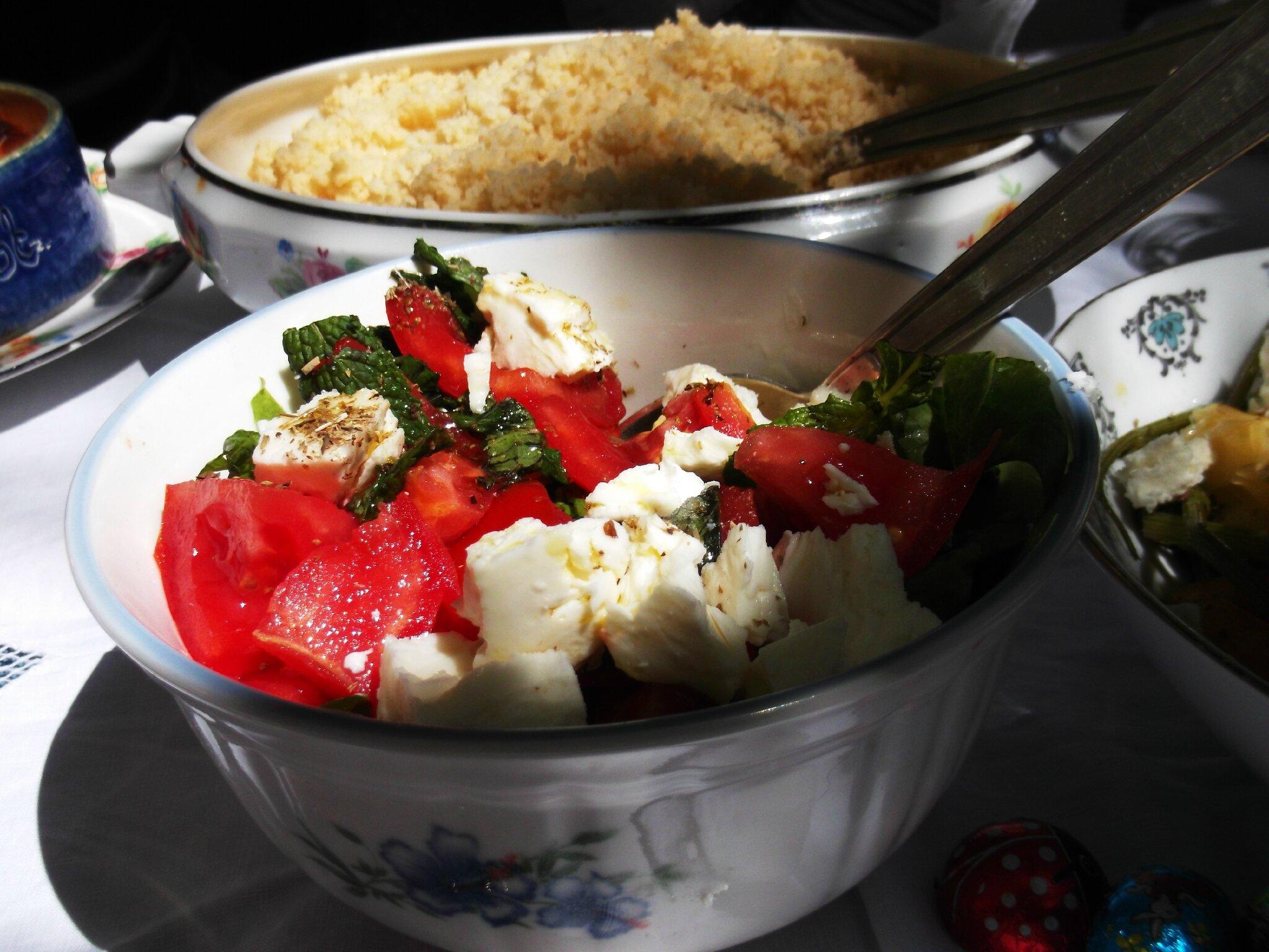 Les salades de la cantinière