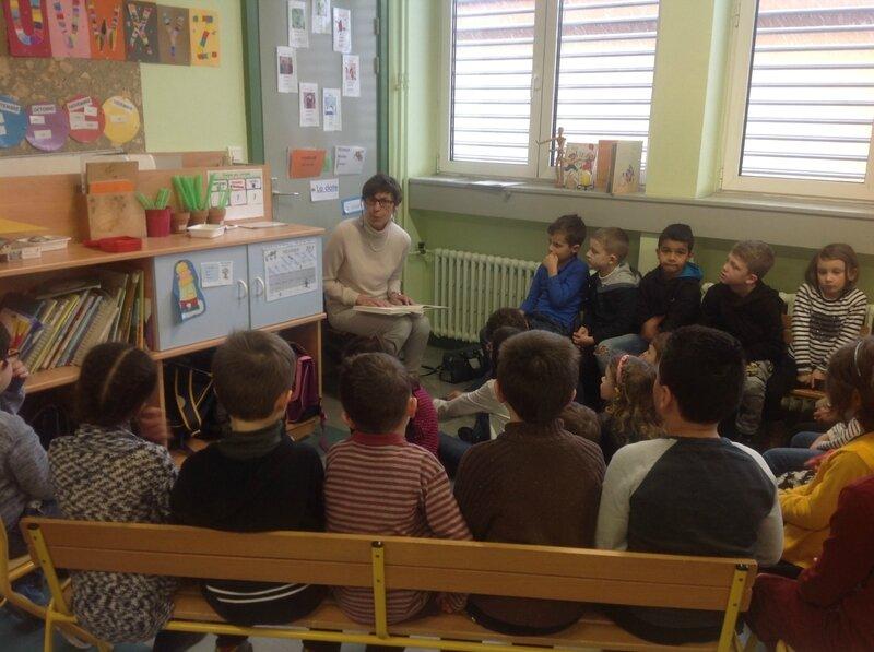 lecture de contes chez les CP