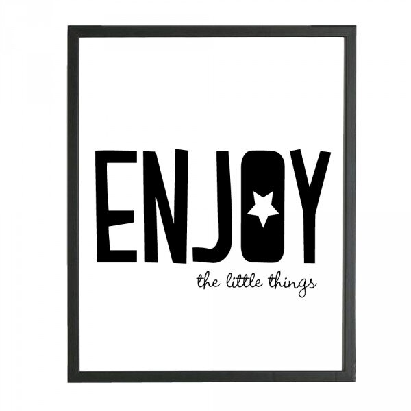 affiche-enjoy-the-little-things
