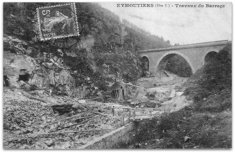 Eymoutiers barrage z
