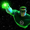 Le cartoon Green Lantern
