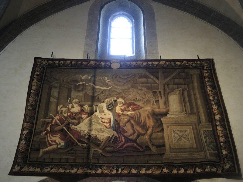 Salers, église Saint-Matthieu, tapisserie (15)