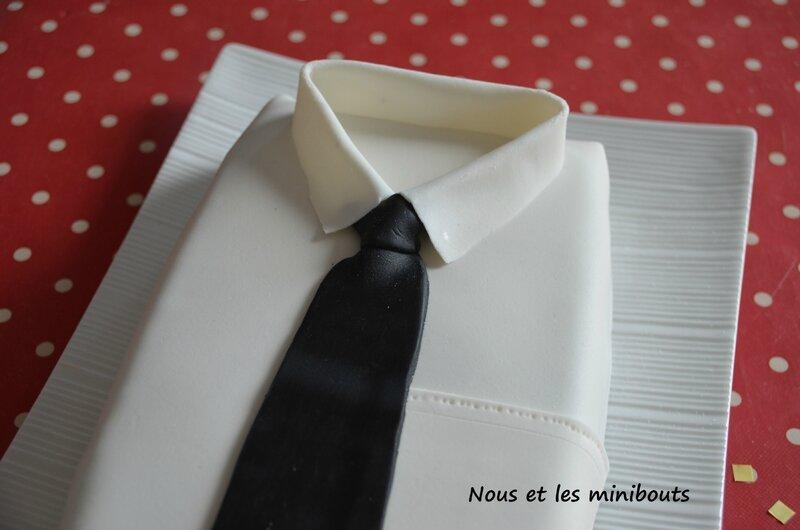 gateau fdp cravate