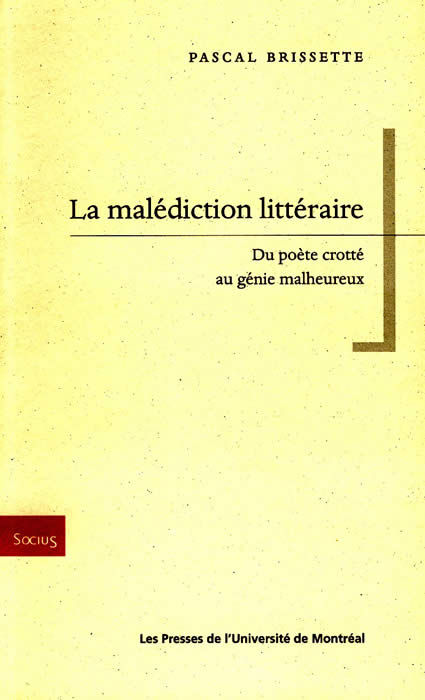 MALEDICTION LITTERAIRE