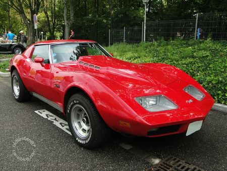 Chevrolet corvette stingray coupe 1973 Rencard de Haguenau 1