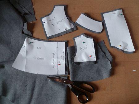 patron couture veste paletot