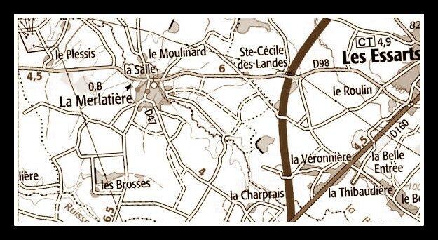 La Merlatière - la Charprais