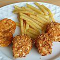 Crunchy poulet