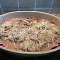 Jambon sauce madère champignons céleri et rencontre de l9 phoque de la rance