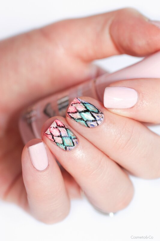 nail art ikat inspiration victoria's secret-4