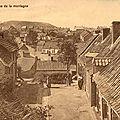 Pâturages - Rue de la Montagne - carte postale