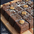 Brownie ultra fondant aux noix
