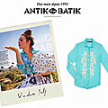 Vu en presse et disponible chez SUNRISE ... ANTIK BATIK
