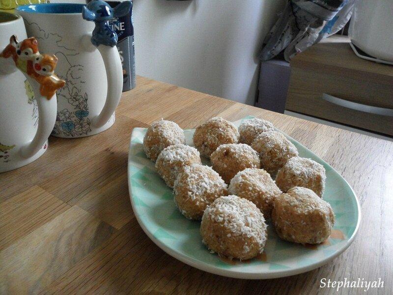 Bouchées noix de coco - 2