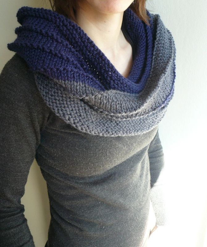 Snood terra cr a 39 tricot - Tricoter un snood debutant ...