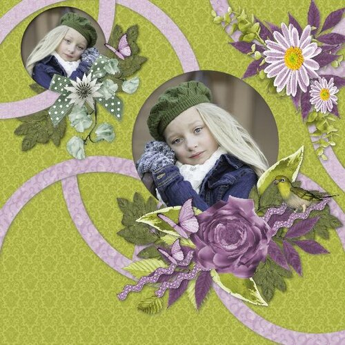 Flomelle_Template_page de Helga - kit the world of the fairies de Flomelle- photo Pixabay