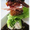 salade en mini brochette