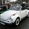Volkswagen super beetle convertible (version us), 1974 à 1980