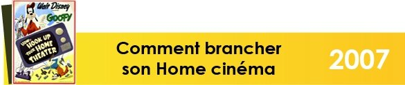 comment brancher son home cinema