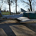 Musée Aéronautique d'Orange: France - Air Force: Fouga CM 170 Magister: 5-MD: MSN 409.