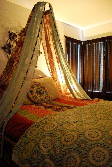 chambre à coucher, lit, incroyable,