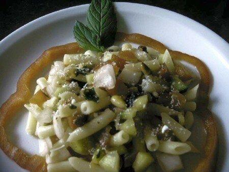 salade_macaronis_crudites_pignons_raisins_menthe_parmesan3