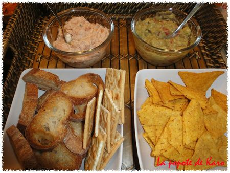 rillette de saumon - guacamole copie