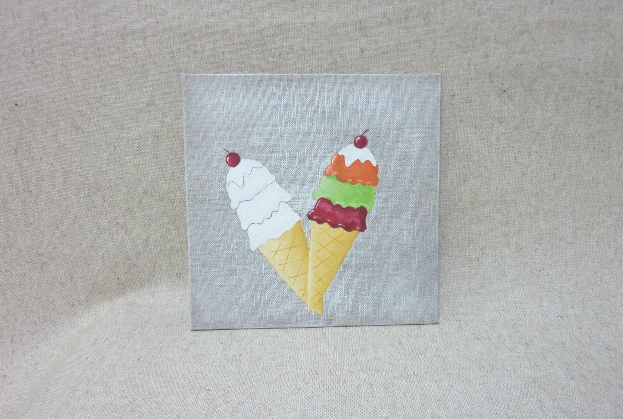 H l ne glaces florence melocco cours de peintures for Peintures decoratives