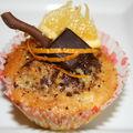 Cakes orange/chocolat