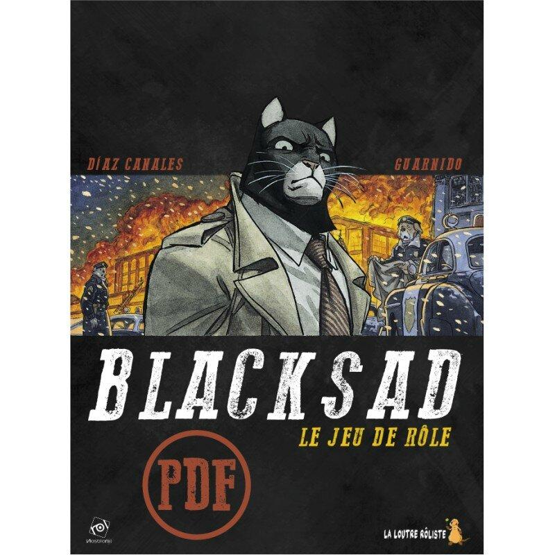 Boutique jeux de société - morbihan - ludis factory - Blacksad jdr