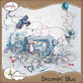 Dreamin' blue et 2 freebies!