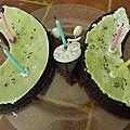 Gâteau anniversaire papillon 5 ans