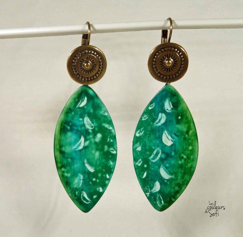 Bo batik vert