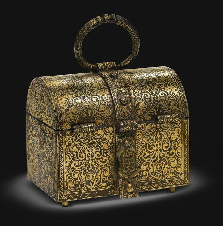 French, mid-16th century, Domed casket