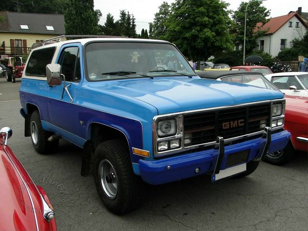 gmc jimmy 1983 1984 a