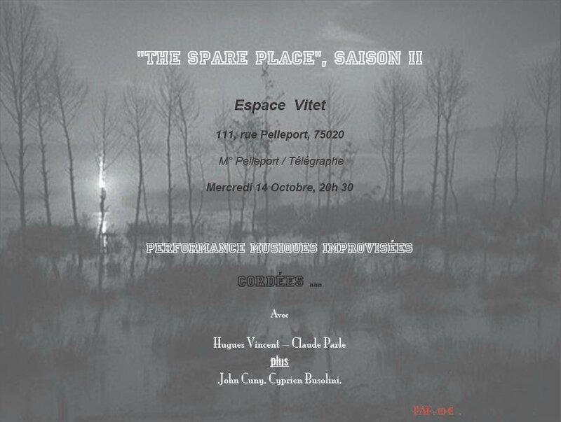 The spare place saison 2