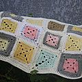 couverture en crochet