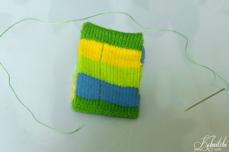 DIY bracelet en pull (2)