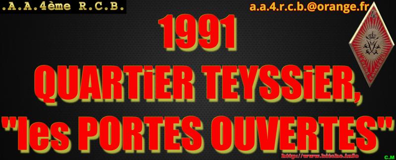 1991 QUARTiER TEYSSiER les PORTES OUVERTES