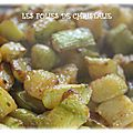 Courgettes frites ( actifry)