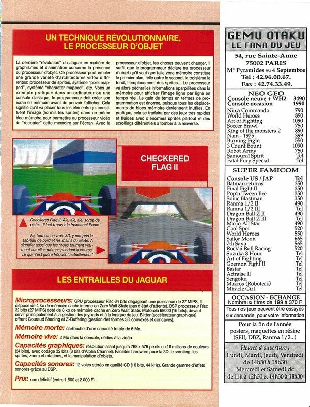 Consoles + 025 - Page 085 (novembre 1993)