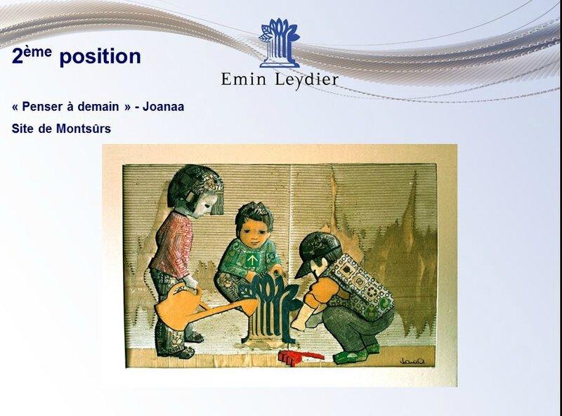présentation oeuvres concours 16