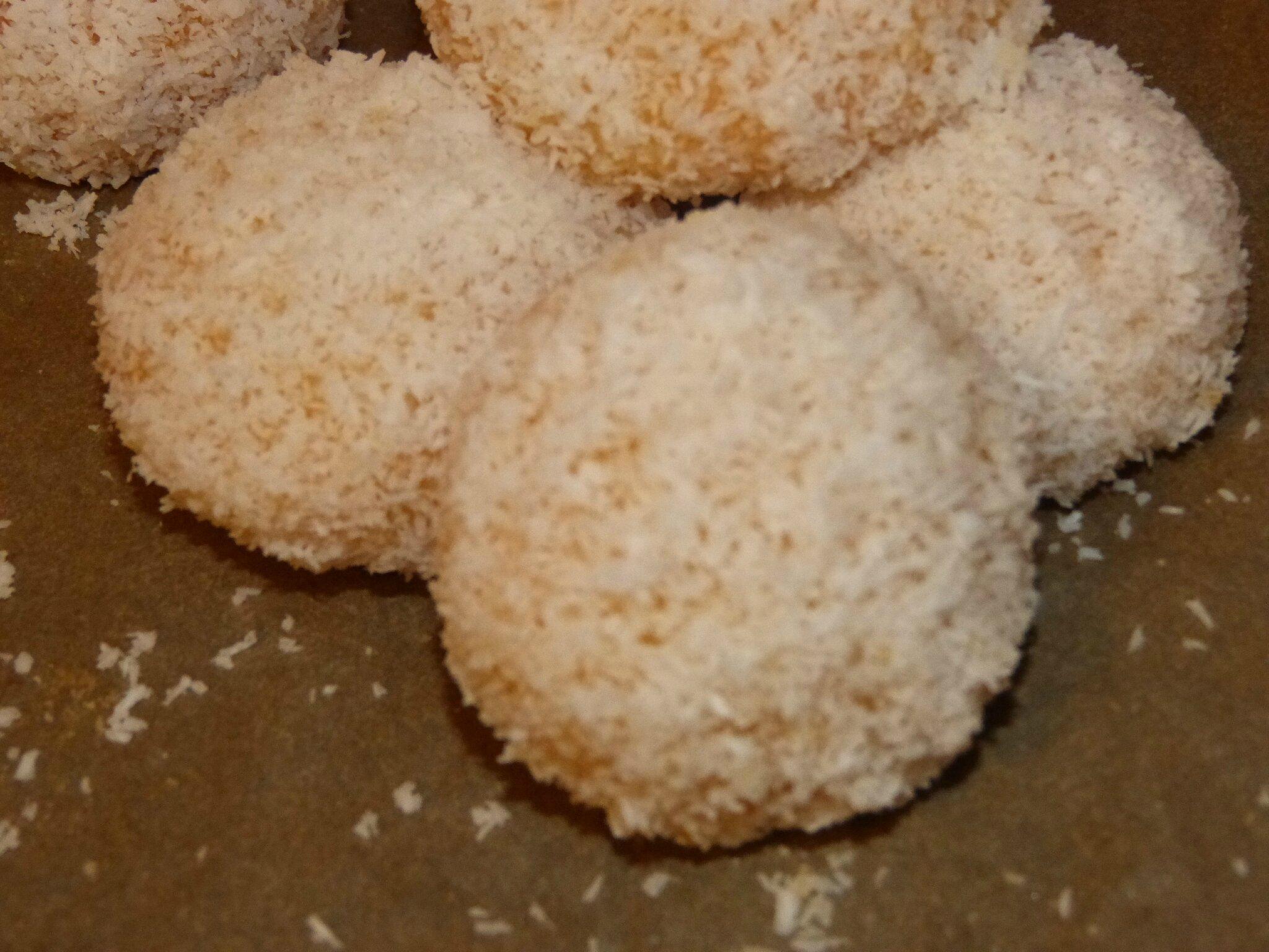 Boule de coco gateau