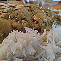 Curry aux légumes