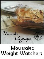 moussaka weight watchers