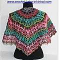 Nouveau modle crochet Marina Shawl