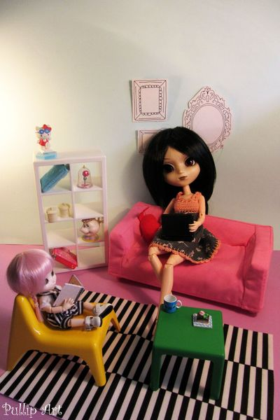 meubles ikea pour pullip pullip art. Black Bedroom Furniture Sets. Home Design Ideas