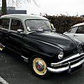 Simca aronde châtelaine - 1956