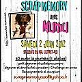 Les ateliers de scrapmemory - 1ère edition